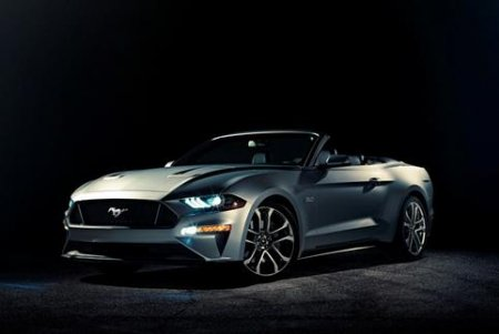 Ford обновил кабриолет Mustang