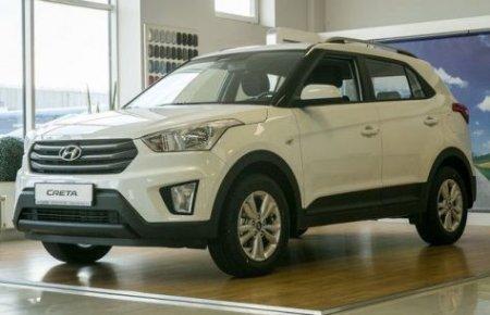 Кроссовер Hyundai Creta пользуется в России «бешеным» спросом