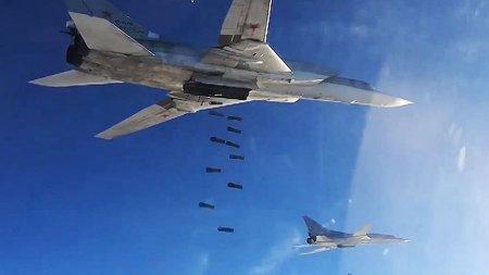 Ту-22М3 нанесли удары по ИГ в Сирии
