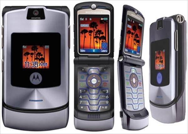 Motorola rolls out razr v3i in purple