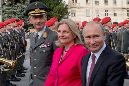 Свадебный переполох: каквАвстрии ждут Путина