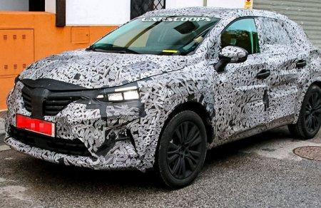 Рестайлинговый Renault Captur получит новый дизайн