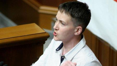 Савченко сообщила очастичной потере зрения ислуха